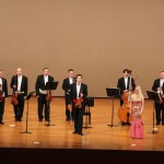 Maria Taytakova with The Czech Philharmonic Collegium in Japan, 2010