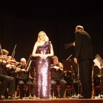 Maria Taytakova at the concert with Košice State Theatre Orchestra, Slovakia 2013