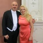 Maria Taytakova with Hooman Khalatbari (conductor), Rigoletto 2013