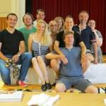 Rigoletto 2013, rehearsal in Vienna