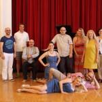 Elisir d'amore 2015, rehearsals in Vienna