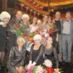 Alcina's team at the State Theatre Košice, Slovakia
