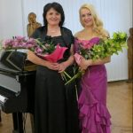 After the Mothers Day Concert in Košice with the pianist Beáta Tomčányiová, 2019