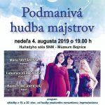 Concert at Bojnice castle, Bojnice Summer Festival 2019