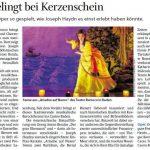 Salzburger Nachrichten, Opernkritik 2019